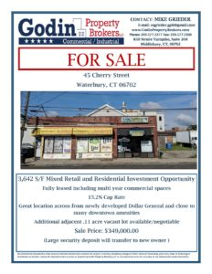 45 Cherry Street Waterbury | Godin Property Brokers